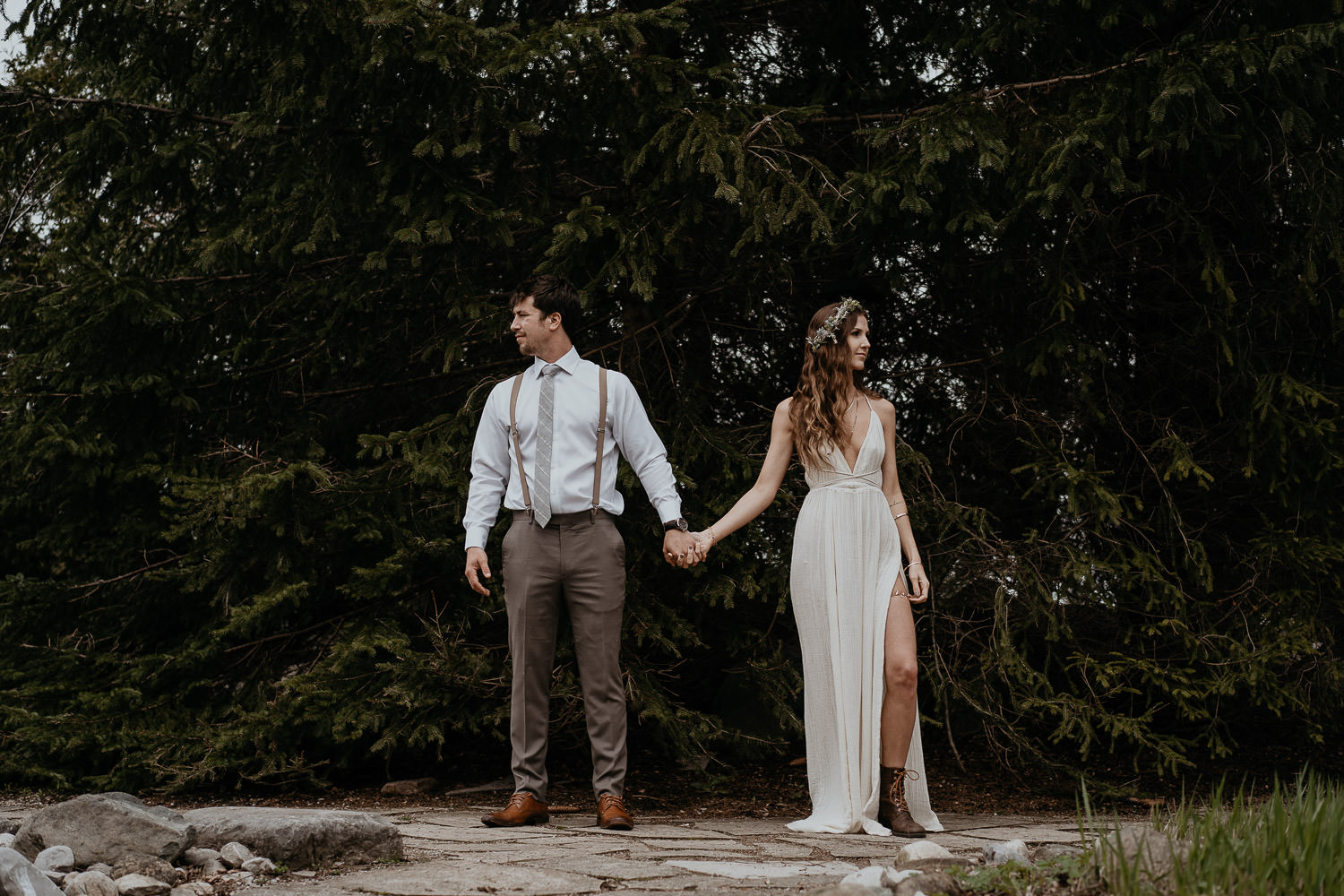 Sam + Kennie - Bellamere Winery Wedding, London Ontario
